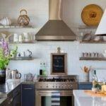 Морские раковины в декорировании кухни