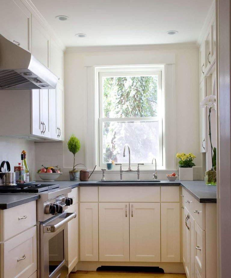 Оформление кухонного пространства в небольшой комнате