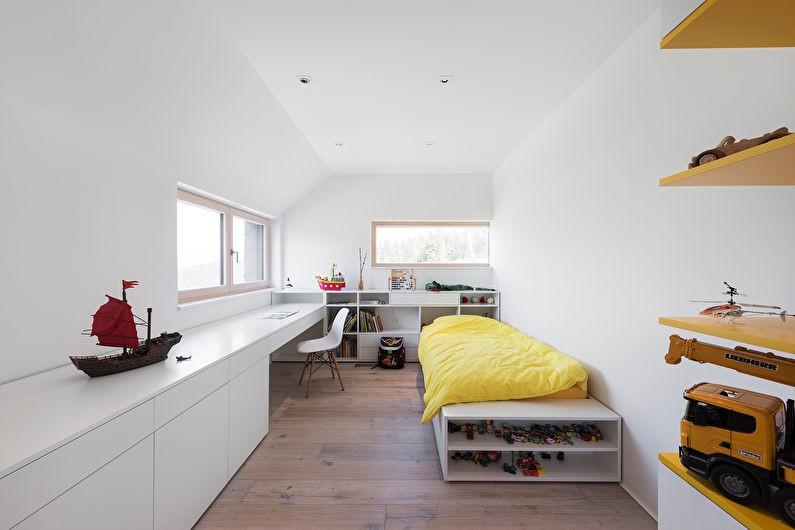 Дизайн детской комнаты в стиле скандинавского минимализма