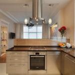 Проект кухни-столовой для частного дома