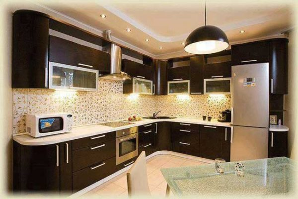 Цвет венге для кухонных поврехностей